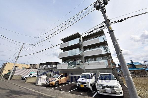 札幌市白石区平和通のマンション