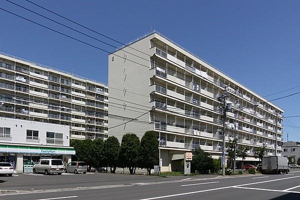 UR都市機構東札幌六条団地2号棟
